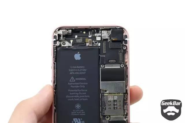 iPhoneSEの内部