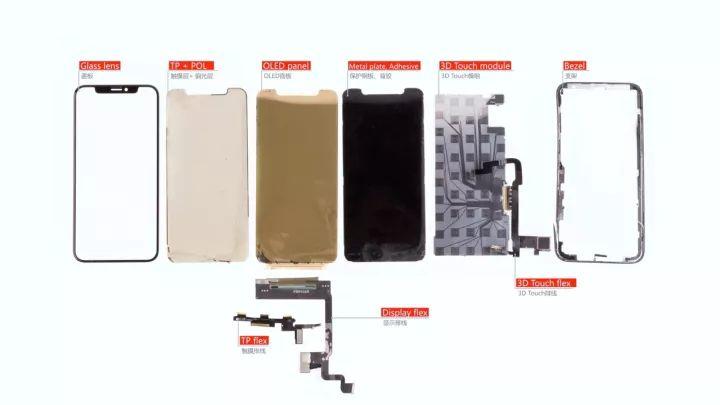 iPhoneXディスプレイ