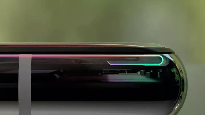iPhoneXのフレームデザイン