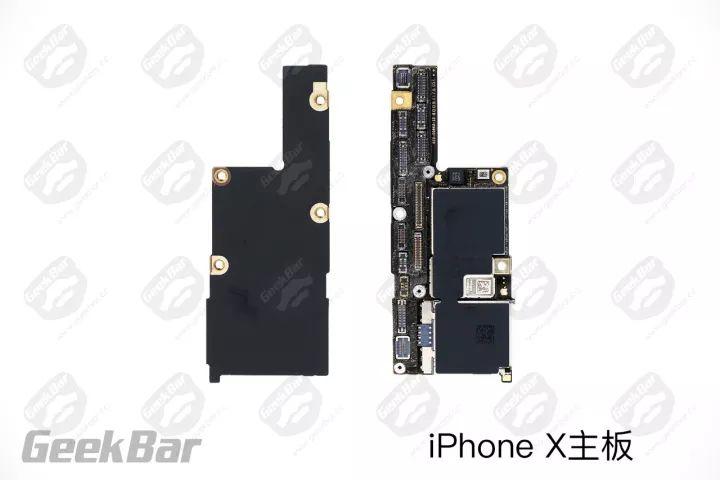 iPhoneXマザーボード