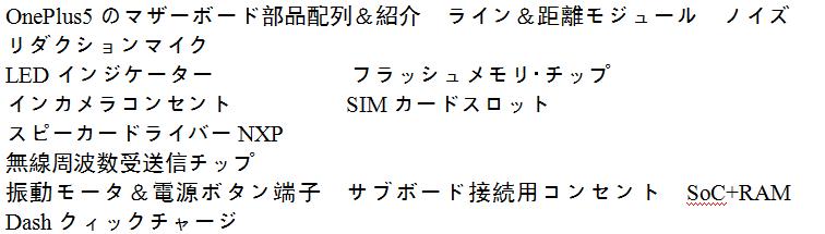 マザーボード部品の配列&紹介