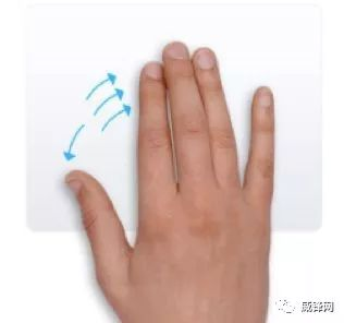 親指と薬指、中指、人差し指を離す