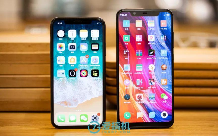 iPhoneXとの比較