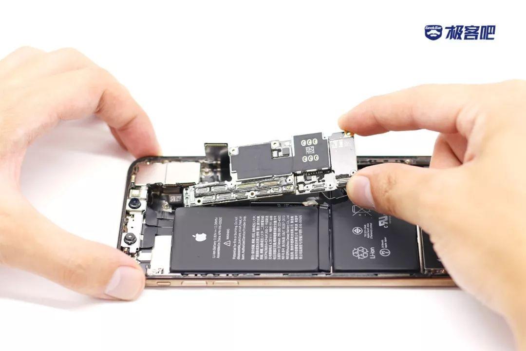 4つのメインボード | iPhone XS Max分解