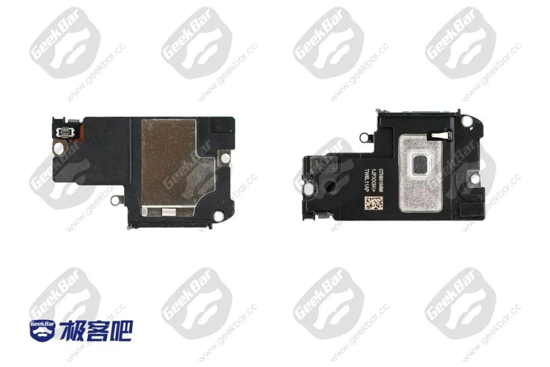 スピーカーとTaptic Engine | iPhone XS Max分解