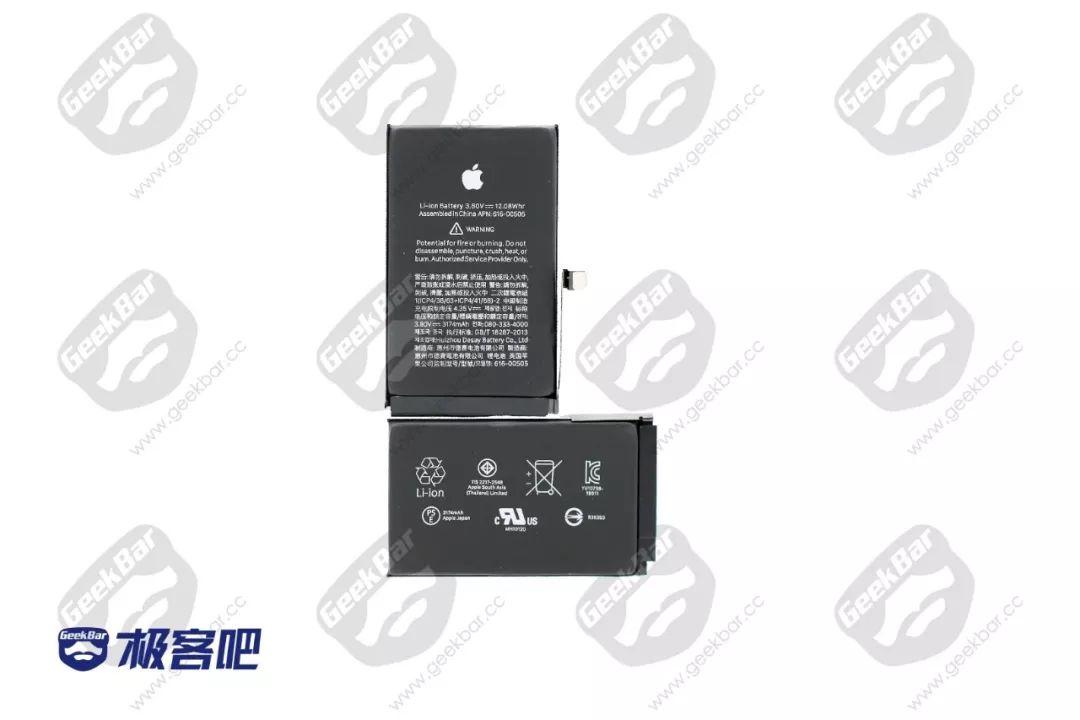 3174mAh・Desay Battery製 | iPhone XS Max分解