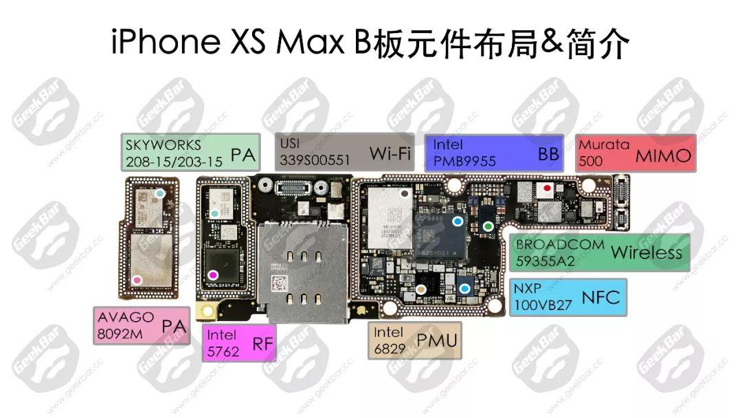 Bボード | iPhone XS Max分解
