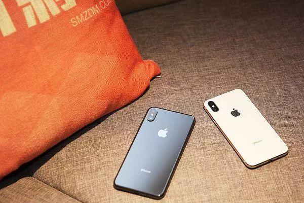 iPhoneXS MaxとiPhoneXの背面比較