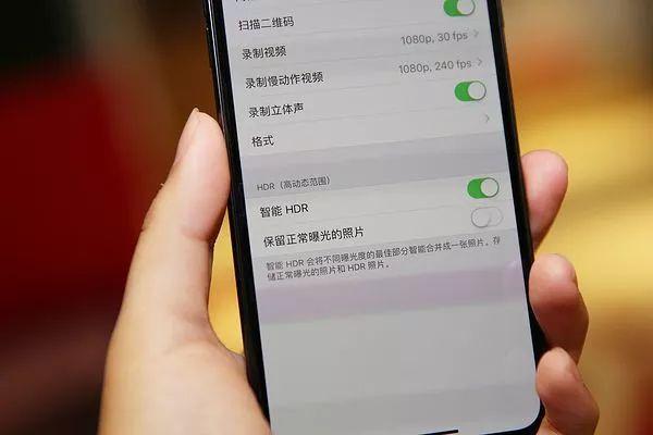 iPhoneXS Maxデュアルカメラ