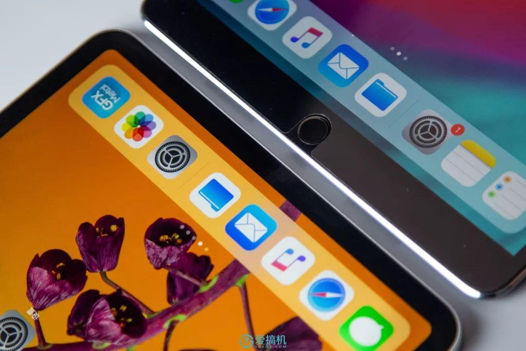 iPad Pro 11インチとiPad Pro 10.5インチのベゼルの比較