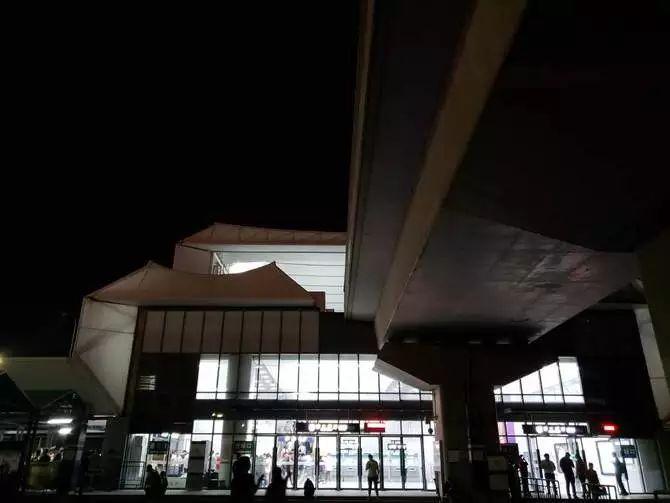 夜景写真サンプルGalaxy Note9