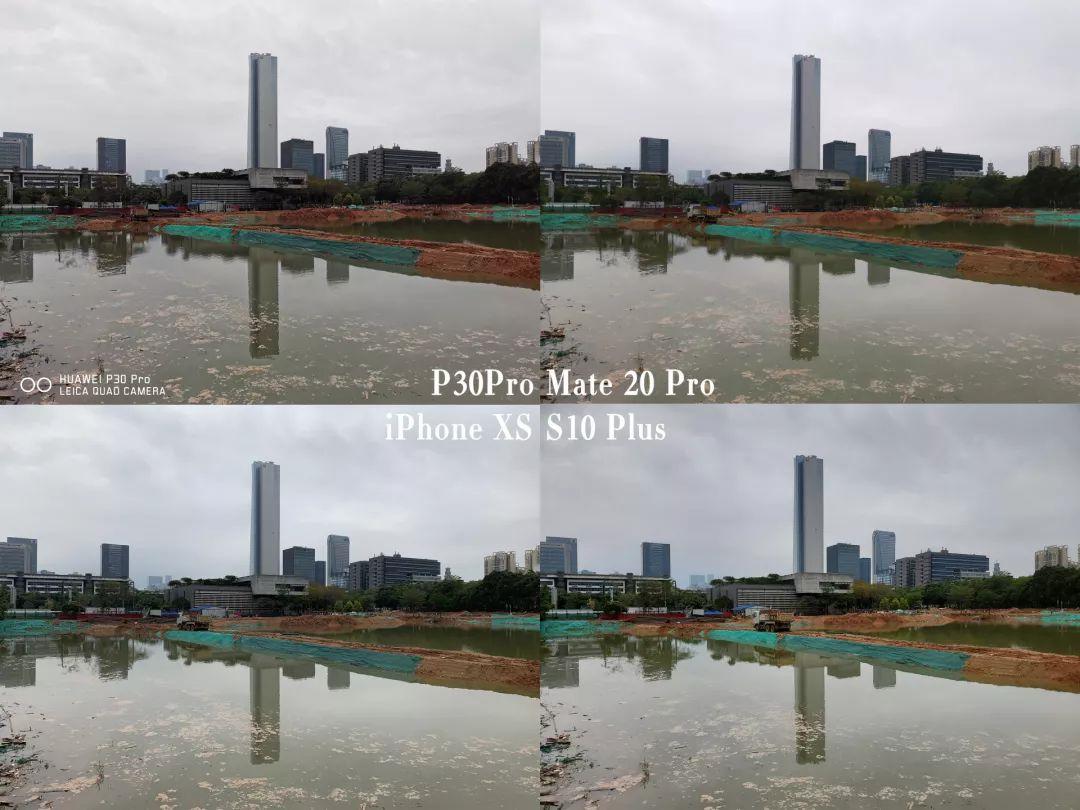 各機種のサンプル写真の比較