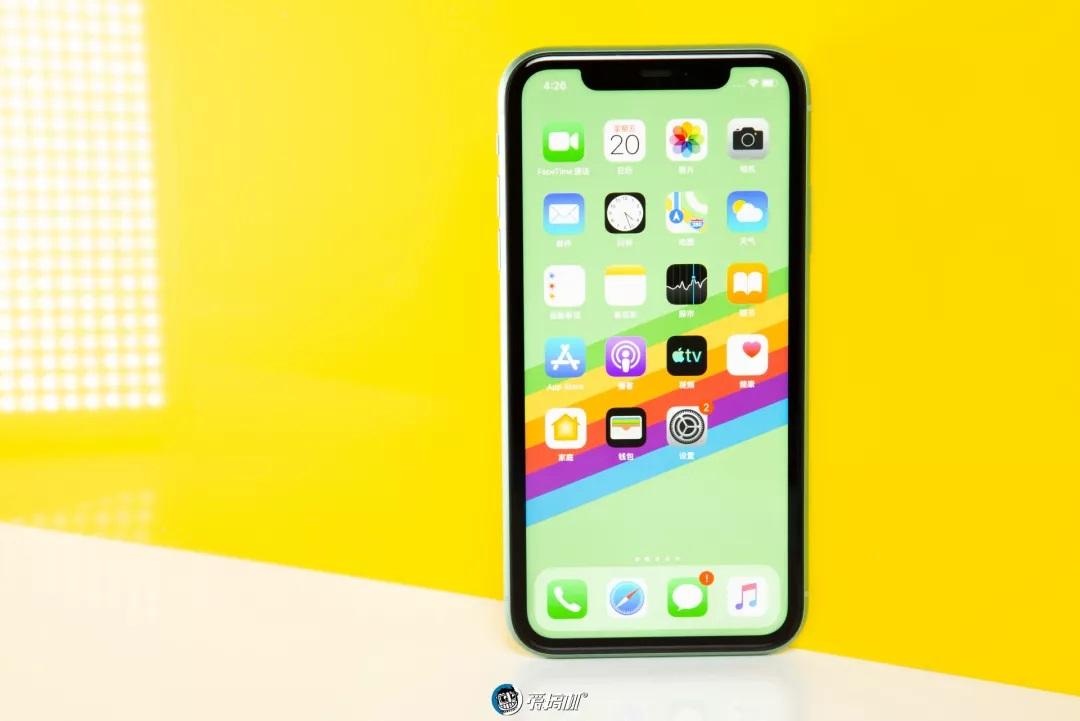 iPhone11のフロントデザイン