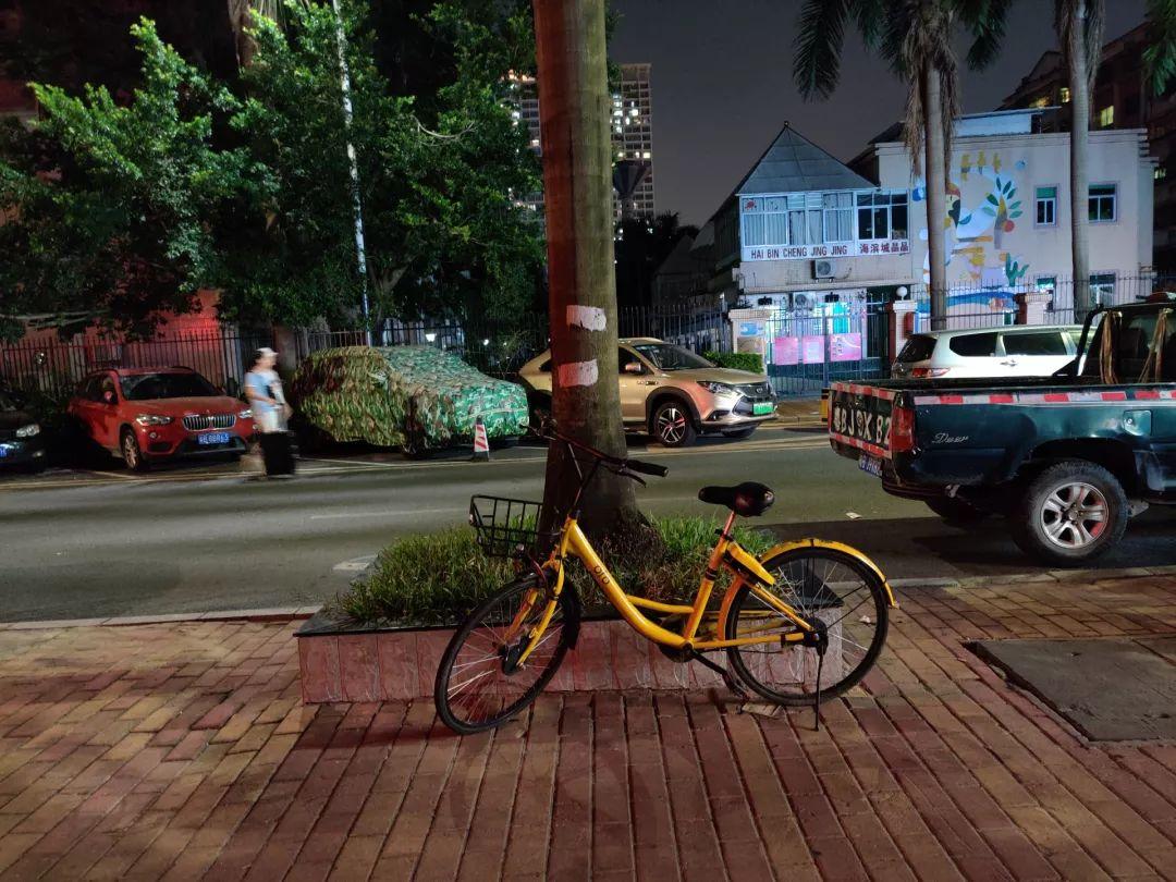 夜間写真サンプル③|OnePlus 7T レビュー