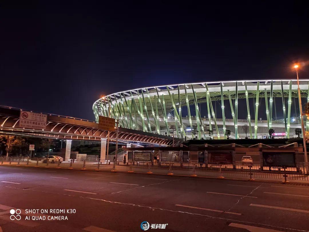 Redmi K30 夜景モード撮影写真サンプル