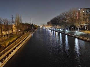 夜景モードサンプル写真