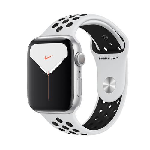 Apple Watch Nike Series5 44mm GPSモデル シルバーアルミニウムケースとNikeスポーツバンド MX3V2J/A