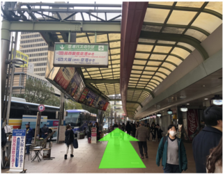 神戸・三宮 空港バス乗り場